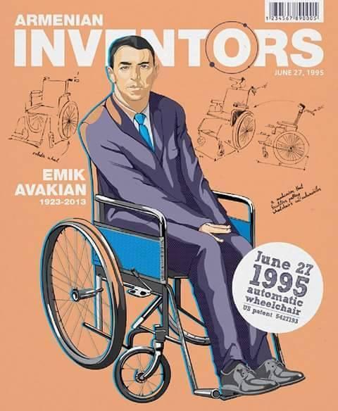 Эмик Авагян Автоматическая инвалидная коляска 27 июня, 1995г.