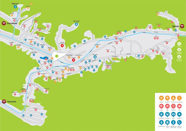 Туристическая карта