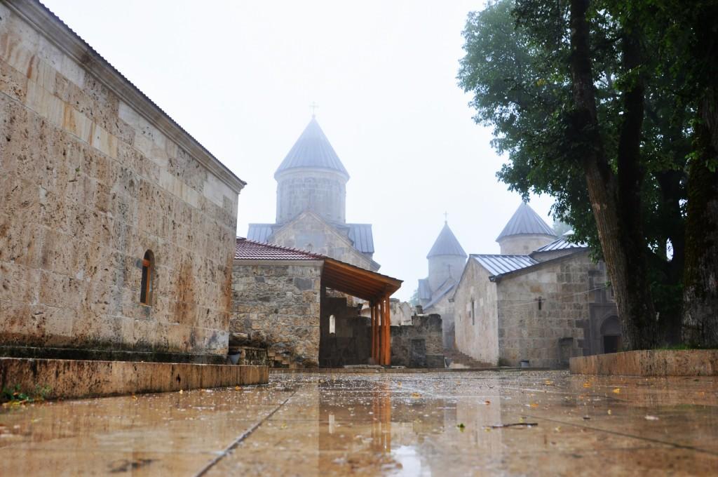 Монастырь Агарцин, после реставрации. Армения