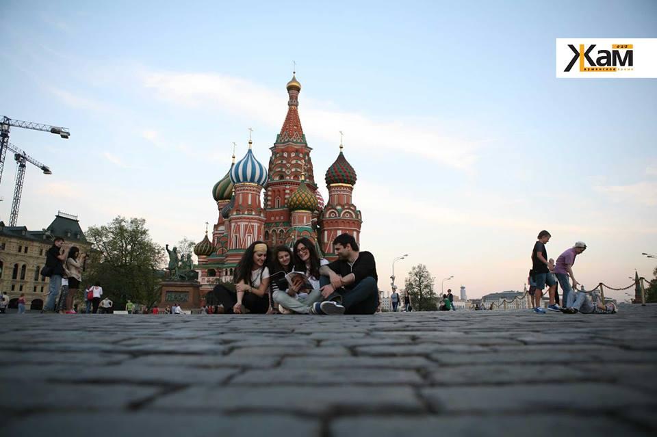 Кремль и армянский журнал Жам