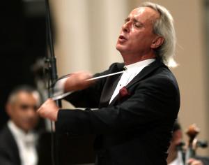 На открытии концертного сезона 2005-2006. Большой концертный зал филармонии имени А. Хачатуряна