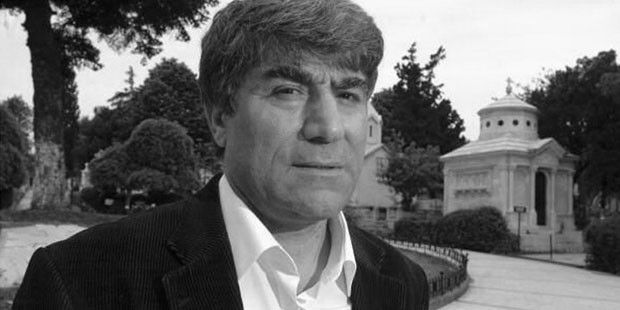 Грант Динк - главный редактор турецко-армянской газеты «Агос»
