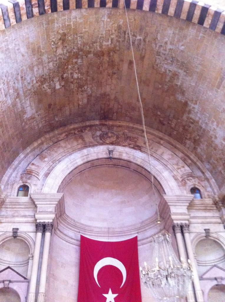 Алтарь церкви Сурб Аствацацин в Айнтабе.