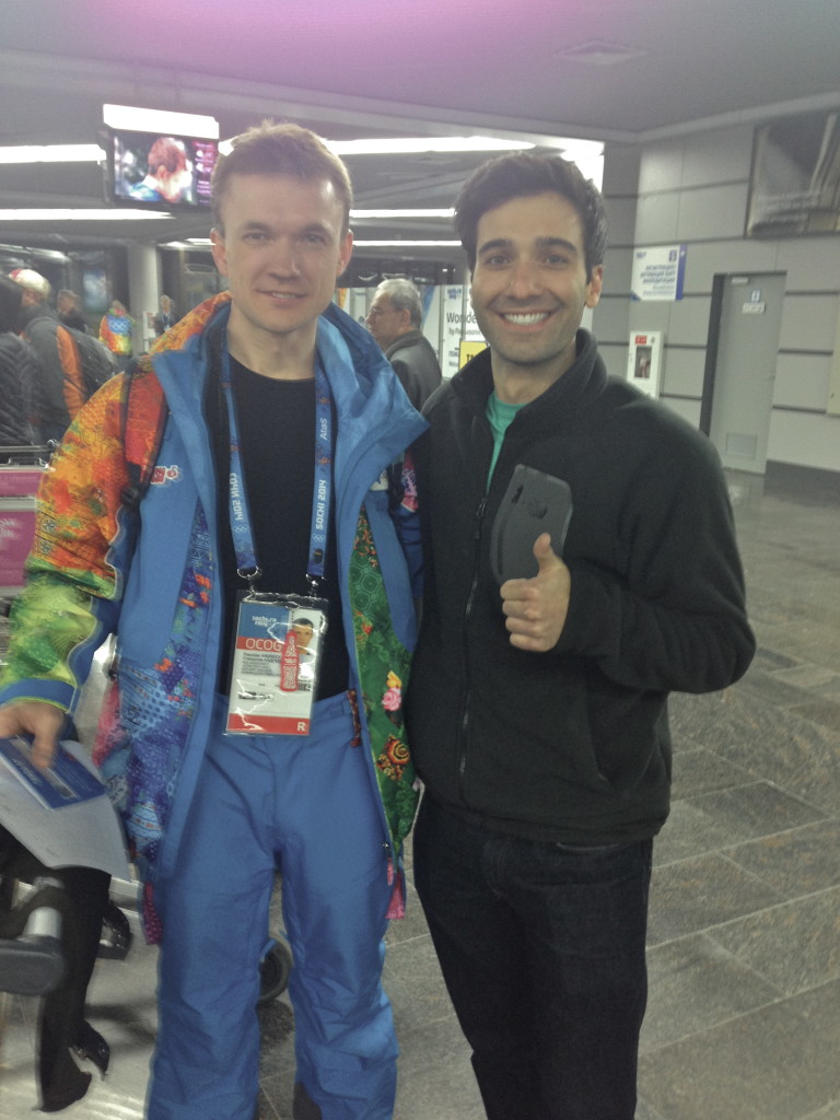 Стас был первым, кто встретил меня в аэропорте