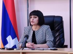 Председатель ЦИК НКР Србуи Арзуманян