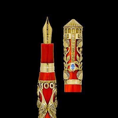 В серии Haverj ручки представлены в ценовом диапазоне от $1,750 за шариковую ручку из серебра