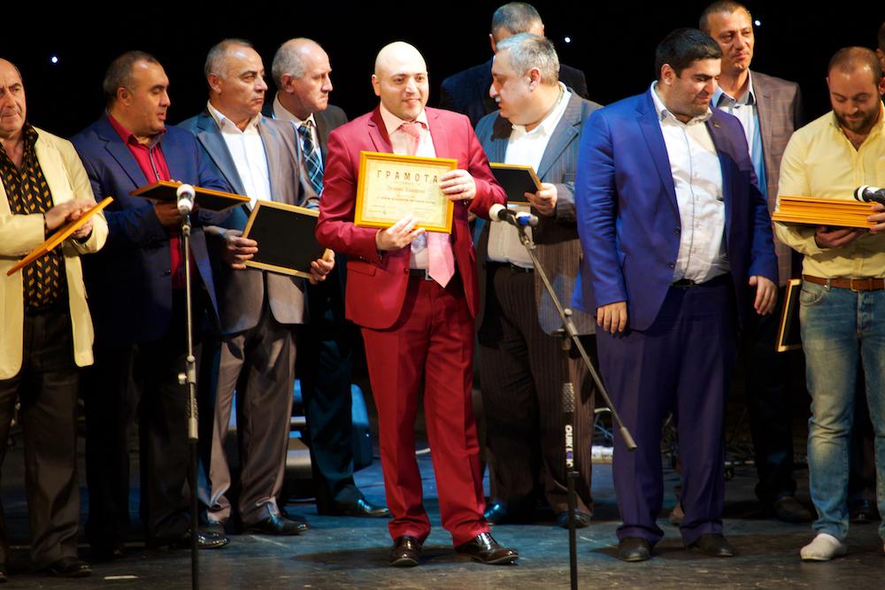 Первый Московский фестиваль дудука, 30 апреля 2014 года. Вручение дипломов по окончании фестиваля.