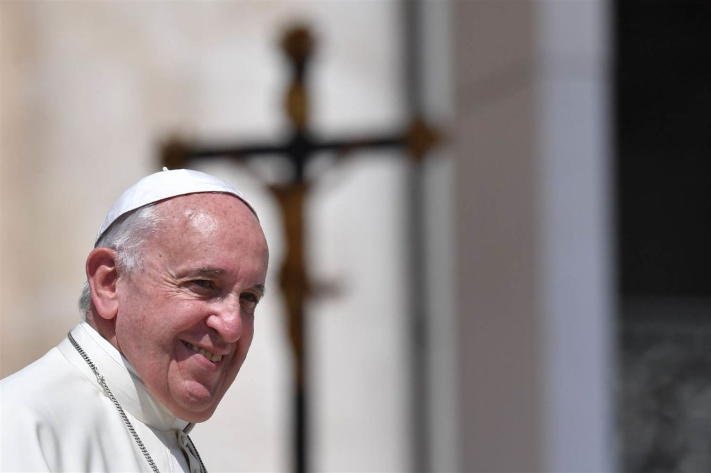 Папа Римский - Франциск. Фото: TIZIANA FABI / AFP - Getty Images