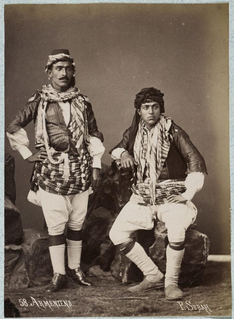 """Паскаль Себа (армянин, 1823-1886гг) """"Армянские мужчины"""", 1875г. Лос Анжелес, Исследовательский Институт имени Гетти"""