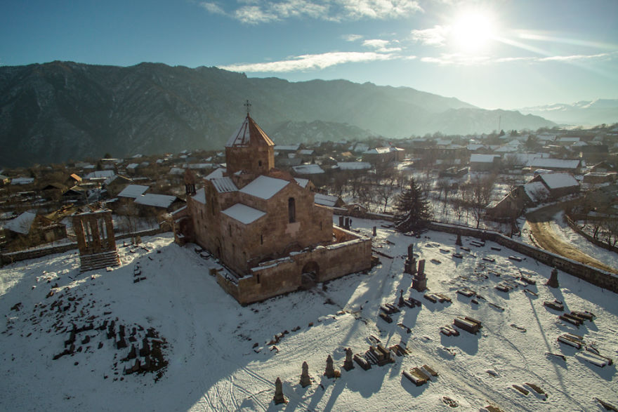 Церковь села Одзун, Лорийская область, Армения