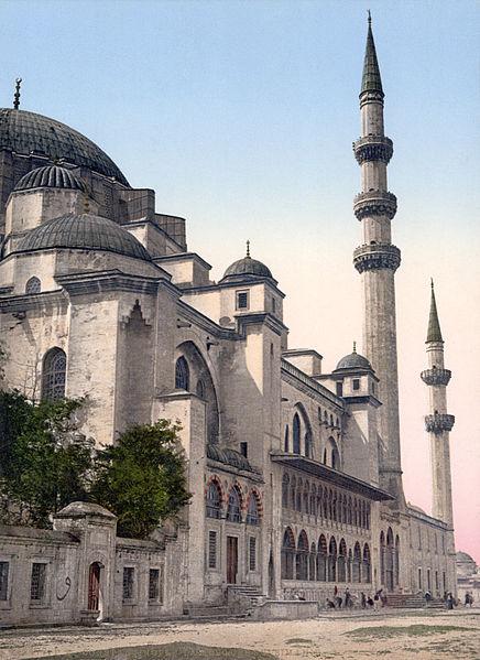 Мечеть Сулеймнание, 1890