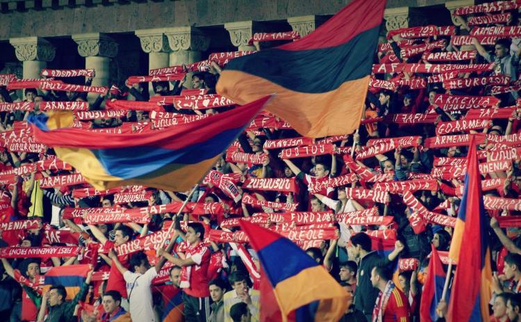 Болельщики сборной Армении. © Фото: faf.am