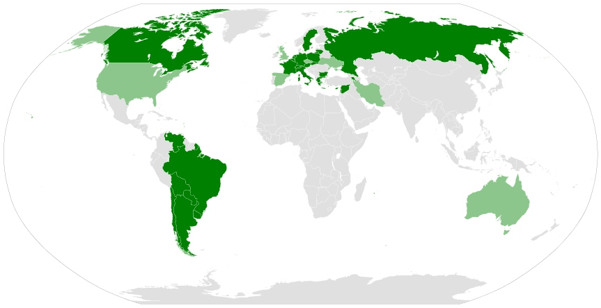 Страны, признавшие Геноцид армян