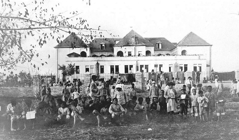 Геноцид армян. Фото приюта