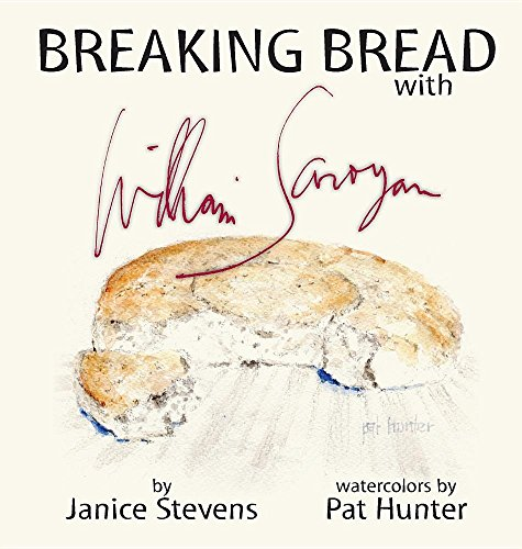Обложка книги «Разделить трапезу с Уильямом Сарояном» (Breaking Bread with William Saroyan)